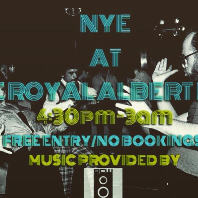 NYE 14-15 || 4pm-3am || Free Entry