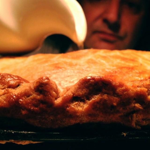 Pork pie. #jellygoingin @anticchef